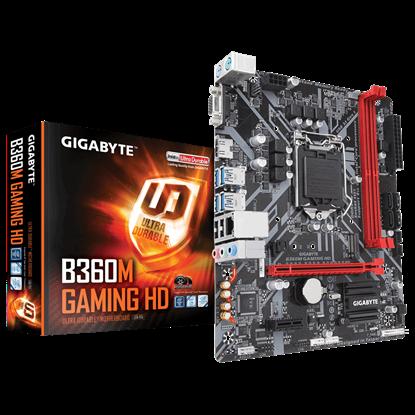 Imagen de GIGABYTE B360M GAMING HD