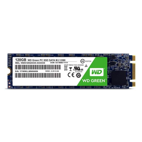 Imagen de SSD M.2 120GB WD GREEN