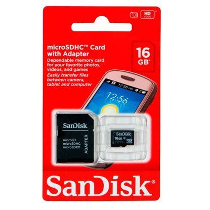 Imagen de MicroSD 16GB SanDisk