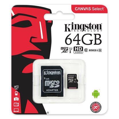 Imagen de MicroSD 64GB KINGSTON