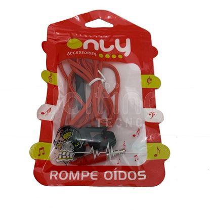 Imagen de ONLY in ear COLOR ROMPEOIDOS MANOS LIBRES