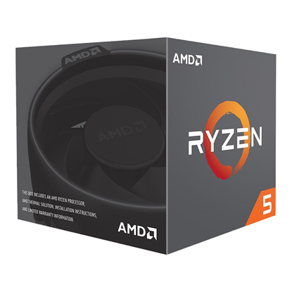 Imagen de CPU AMD AM4 RYZEN 5 2600 6-CORE 4,2Ghz AM4  BOX (sin VGA)