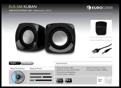 Imagen de EUROCASE EUS-368  2.0 BLACK USB