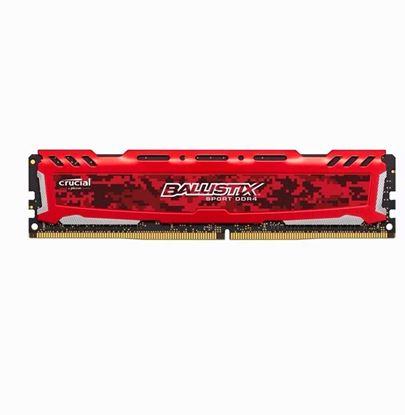 Imagen de DDR4 4 GB (2666) CRUCIAL BALLISTIX RED
