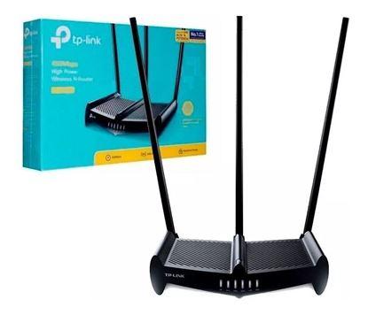 Imagen de TP LINK ROUTER  wireless TL-WR941HP HIGH POWER 450Mbps c/3 antenas 9 Dbi