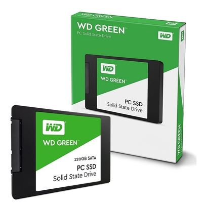 Imagen de SSD DISCO 120 GB WD GREEN