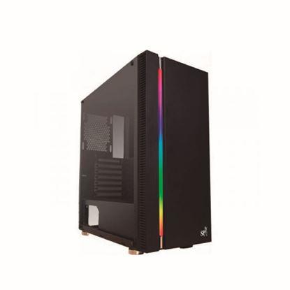 Imagen de GABINETE ATX SP GAMING LOULAN CG-9900 + RGB + LATERAL VIDRIO