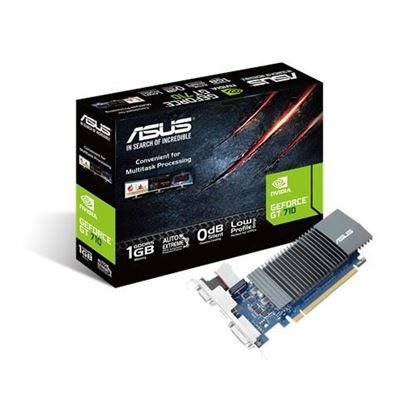 Imagen de PLACA DE VIDEO GF GT710 ASUS 2GB DDR5