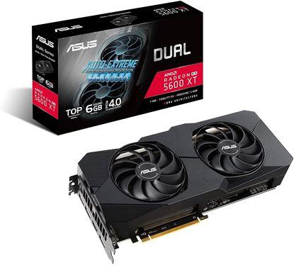 Imagen de PLACA DE VIDEO 8 GB RX5600 XT ASUS DUAL EVO GAMING DDR6