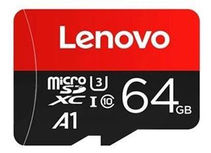 Imagen de MicroSD 64 GB  LENOVO clase 10