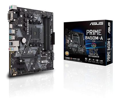Imagen de MB ASUS PRIME B450M-A/CSM AM4 BOX