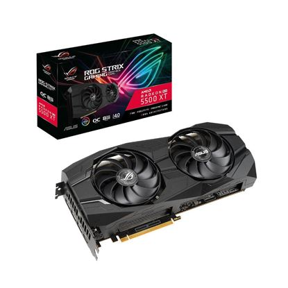Imagen de PLACA DE VIDEO ASUS ROG STRIX RX5500 XT 8GB OC GAMING