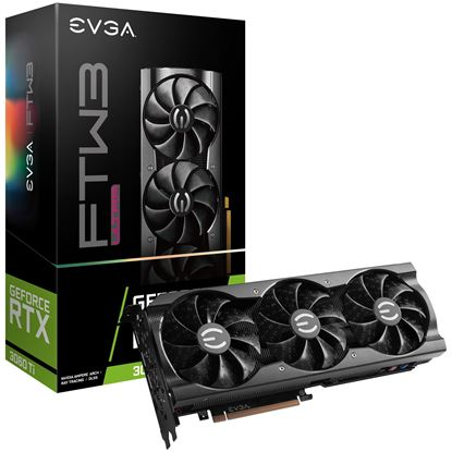Imagen de PLACA DE VIDEO 8 GB eVGA GF RTX3060Ti FTW ULTRA GAMING DDR6