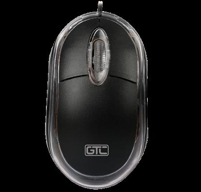 Imagen de MOUSE GTC MOG-107 black USB