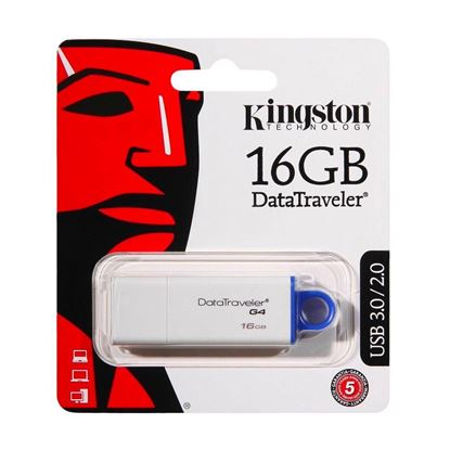 Imagen de PENDRIVE USB 16 GB KINGSTON DTG4 USB 3.0