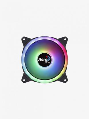 Imagen de CASEFAN 12x12  AEROCOOL DUO (ARGB – DUAL RING)