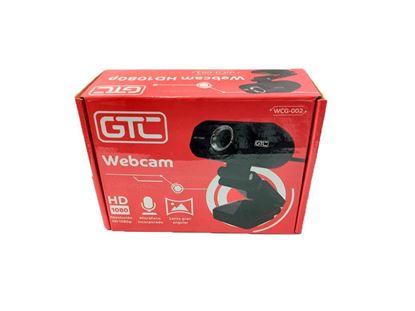Imagen de WEBCAM GTC WCG-002 1080pFHD C/MIC BLACK   USB