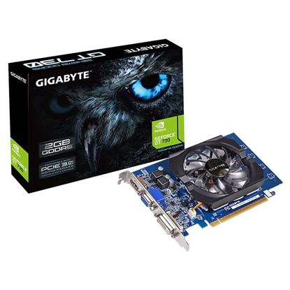 Imagen de PLACA DE VIDEO 2 GB GF 730 DDR5  GIGABYTE