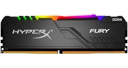 Imagen de DDR4 8 GB (3200) KINGSTON HYPER FURY RGB