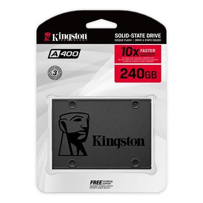 Imagen de SSD KINGSTON 240GB SSDNOW A400 SATA3 2.5